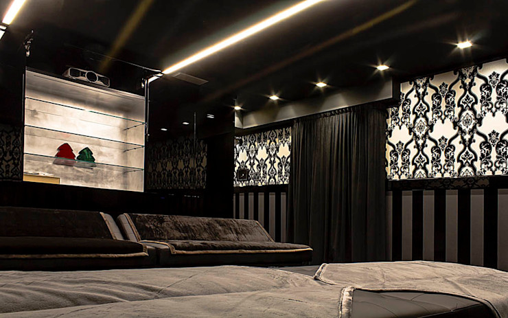 Movie theatre Matteo Gattoni - Architetto Sala multimediale moderna