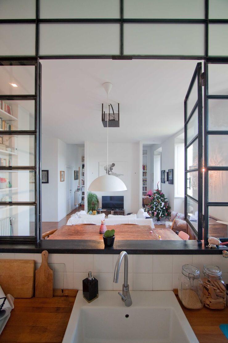 Anomia Studio Кухня в стиле лофт