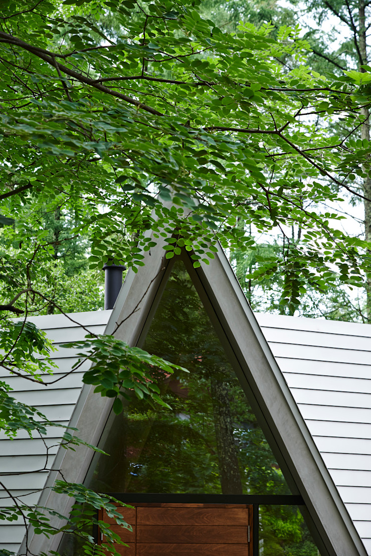 Forest House カスヤアーキテクツオフィス(KAO) Modern Windows and Doors