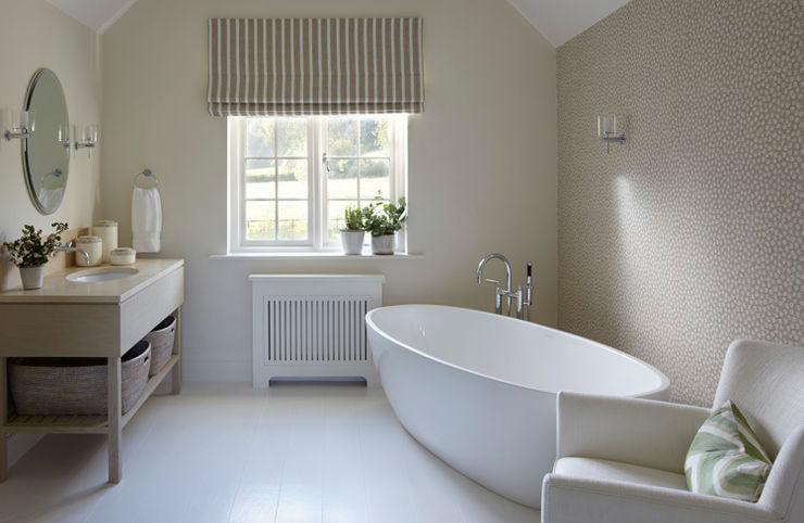 Country House, Hampshire Helen Green Design Ванна кімната