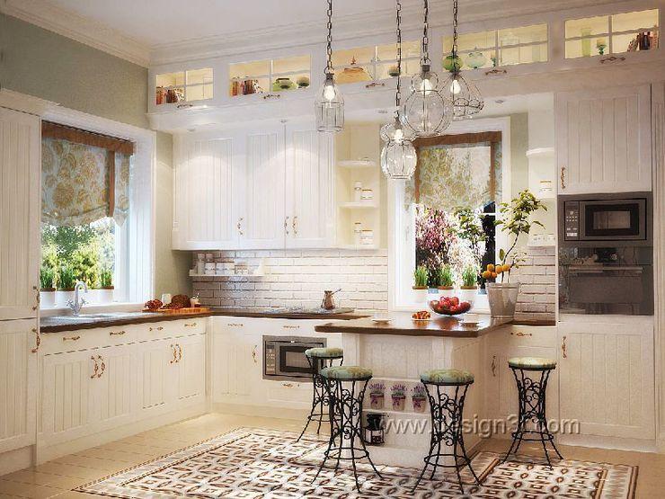 студия Design3F Cocinas de estilo clásico
