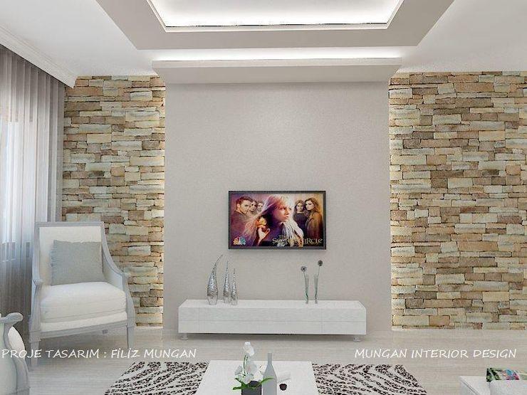 MUNGAN INTERIOR DESIGN Living room