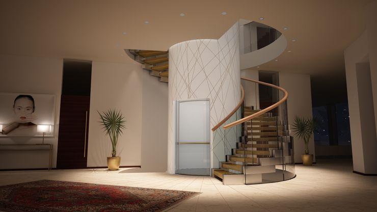 Siller Treppen/Stairs/Scale Escaleras Plata/Oro Ámbar/Dorado