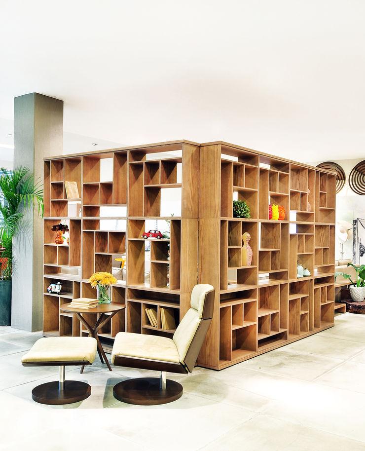 LOFT DA MULHER CONTEMPORÂNEA por Adriana Scartaris Adriana Scartaris: Design e Interiores em São Paulo Casas ecléticas