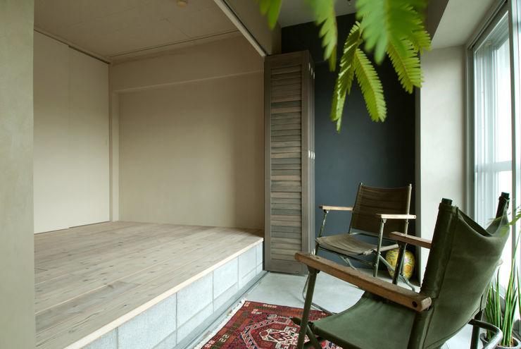TATO DESIGN:タトデザイン株式会社 Modern style bedroom