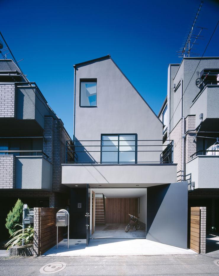 外観 高橋直子建築設計事務所 ミニマルな 家