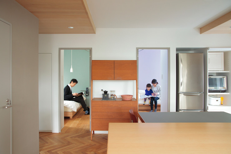 TATO DESIGN:タトデザイン株式会社 Scandinavian style dining room