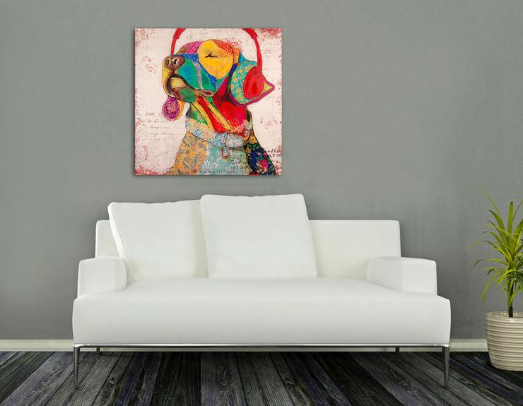 5EL DEKORASYON VE MİMARLIK - CHIC TOWN DECO BEBEK Kunst Bilder & Gemälde