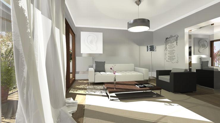 Architecture d'intérieur - Appartement Bordeaux, France Sandra Hisbèque Salon moderne