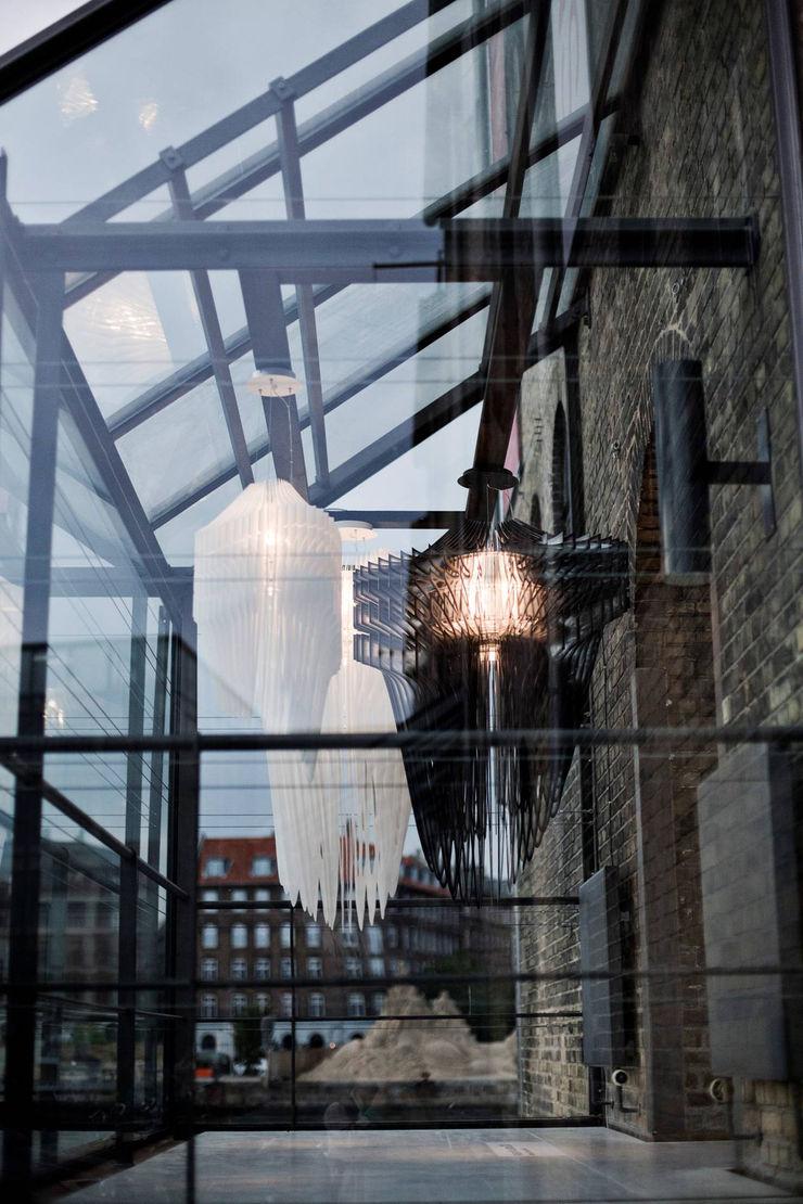 Highlight Aydınlatma Balconies, verandas & terraces Lighting