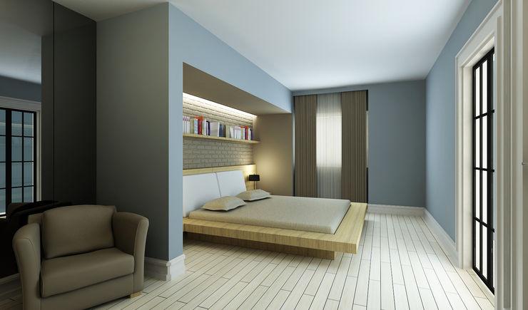 M.A. EVİ Niyazi Özçakar İç Mimarlık Modern Yatak Odası