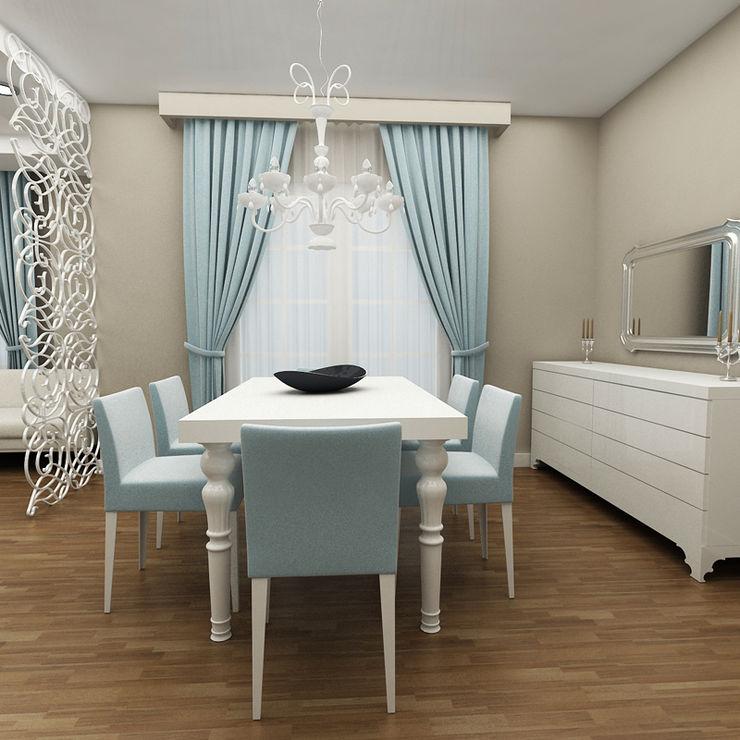 Niyazi Özçakar İç Mimarlık Phòng ăn phong cách hiện đại