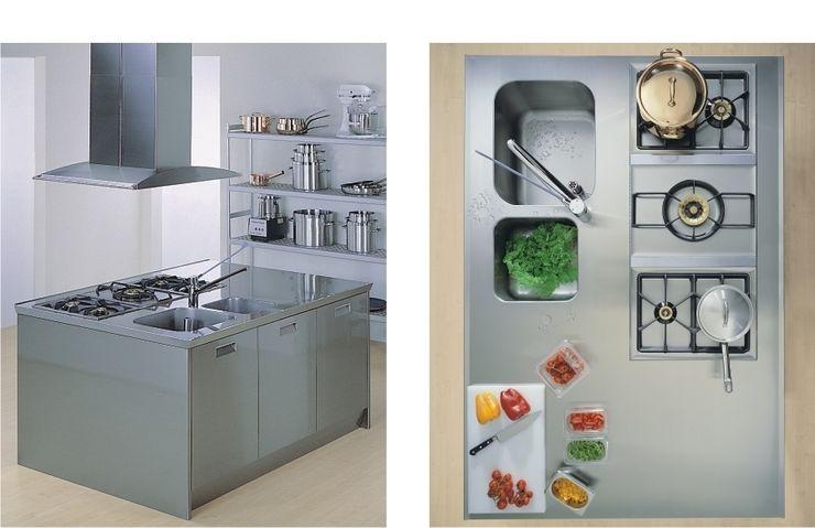 bettini design Dapur Gaya Industrial
