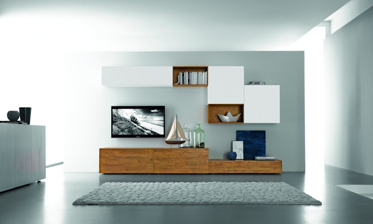 homify Living roomCupboards & sideboards