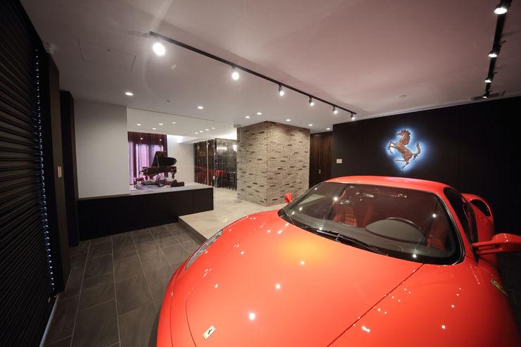 一級建築士事務所・スタジオインデックス Modern garage/shed