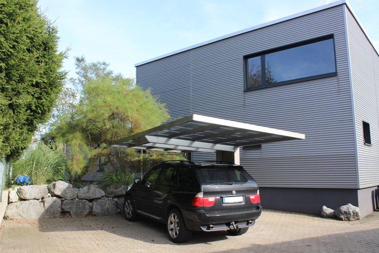 Aluport Monaco Design Carport Deutsche Carportfabrik GmbH & Co. KG Garage/Schuppen