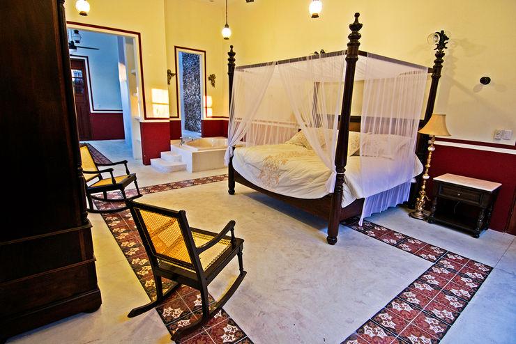 Recámara Arturo Campos Arquitectos Dormitorios coloniales