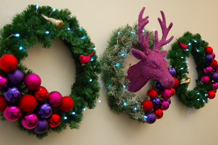 Commercial Christmas Styling Bhavin Taylor Design Office buildings