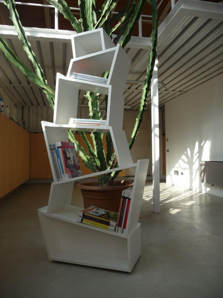 BABYLON bookcase Frigerio Paolo & C. Study/officeCupboards & shelving