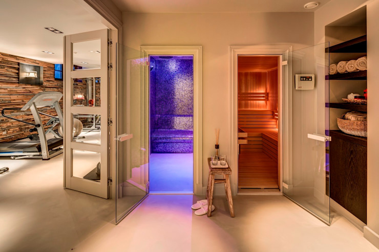 Kabaz Rustic style spa