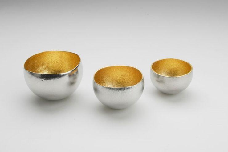 Kuzushi - Yure (A sake cup/ small bowl) Rin crossing KitchenCutlery, crockery & glassware