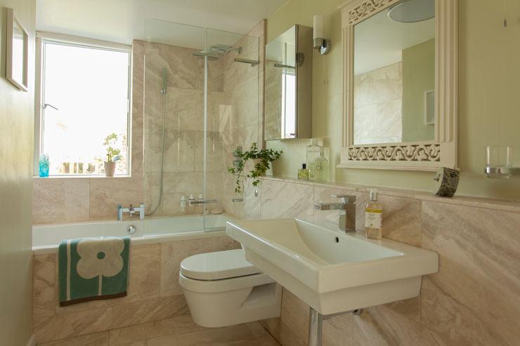 Double storey extension for artist in Bishopston, Bristol Dittrich Hudson Vasetti Architects Modern bathroom