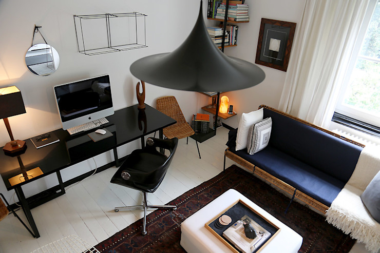 edit home staging Eclectic style media rooms
