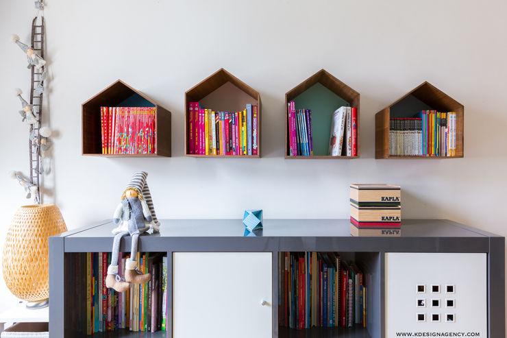 K Design Agency Cuartos infantiles de estilo moderno