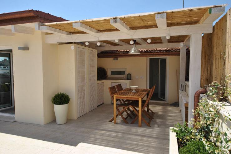 Formaementis Minimalist balcony, veranda & terrace