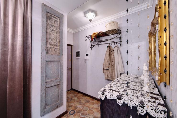 Порядок вещей - дизайн-бюро Rustic style corridor, hallway & stairs