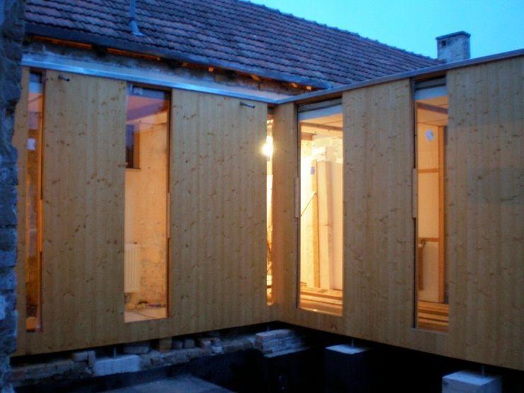 3rdskin architecture gmbh Ванная комната в стиле модерн