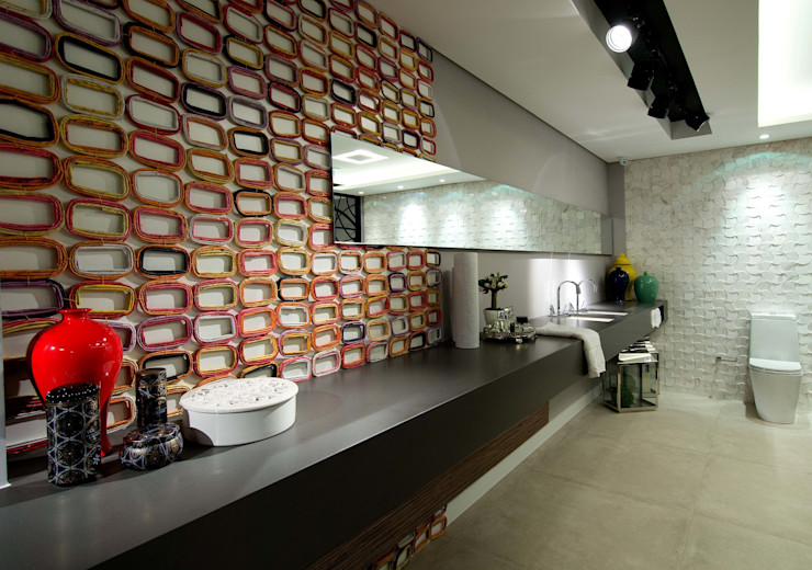 ArchDesign STUDIO Eclectic style bathroom