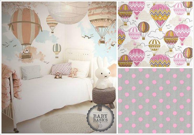 Balloon Sky Pink Inspiration BabyBasics Habitaciones infantilesAccesorios y decoración