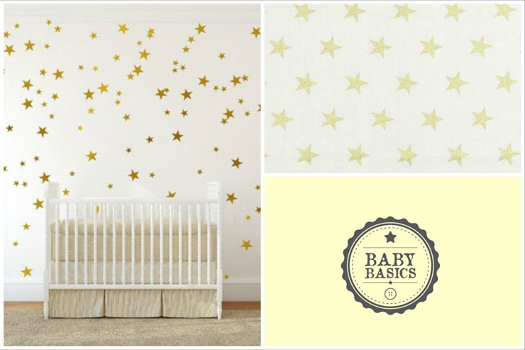 Gold Sky Inspiration BabyBasics Habitaciones infantilesAccesorios y decoración