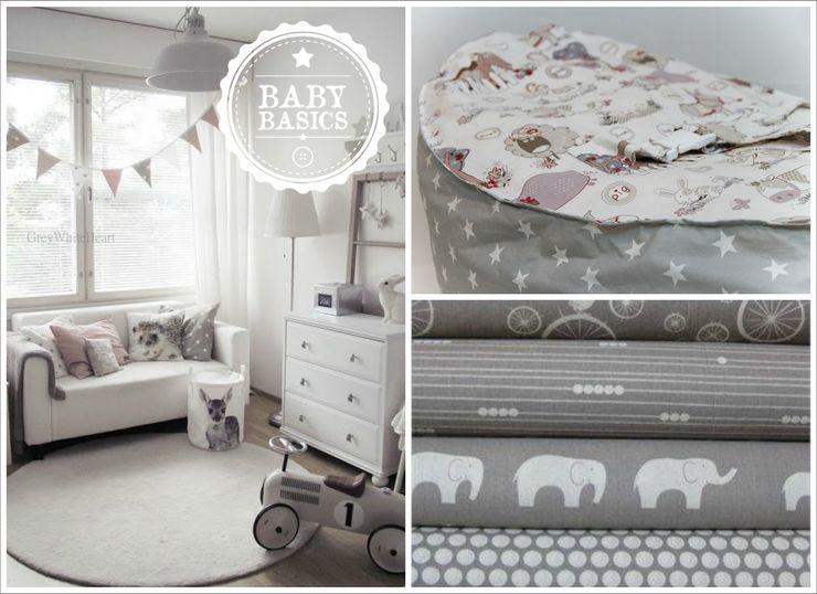 Snow & shadow Inspiration BabyBasics Habitaciones infantilesAccesorios y decoración