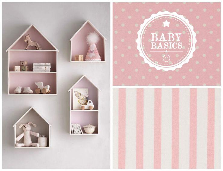 Girls Mood Inspiration BabyBasics Habitaciones infantilesAccesorios y decoración