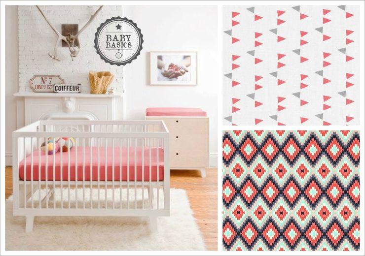 Scandinavian Girl Inspiration BabyBasics Habitaciones infantilesAccesorios y decoración