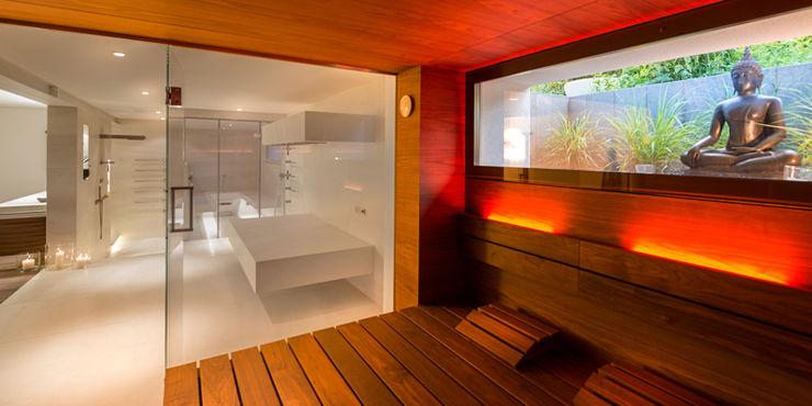 Sauna peter glöckner architektur Moderner Spa