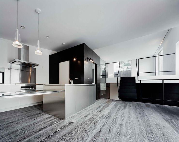 balena 筒井紀博空間工房/KIHAKU tsutsui TOPOS studio オリジナルデザインの キッチン
