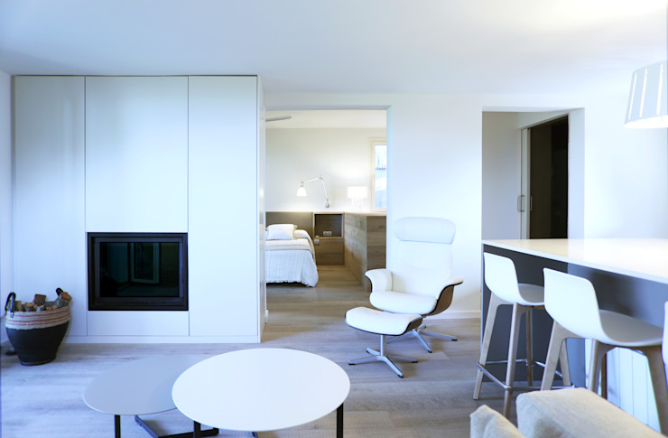 Reforma de una casa de invitados en la montaña dom arquitectura Casas de estilo moderno