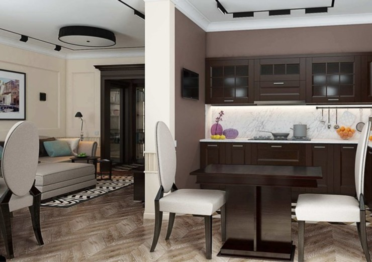 Павел Белый и дизайнеры Living room
