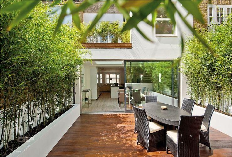 Chelsea Family House Black and Milk   Interior Design   London Moderne tuinen