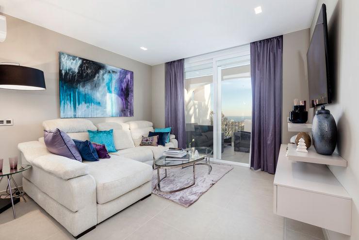 Duquesa Pulse Interior Design SL Salones de estilo moderno