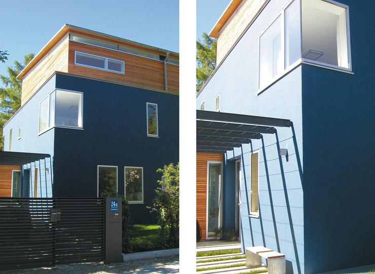 Fassadendetail heidenreich architektur Moderne Häuser