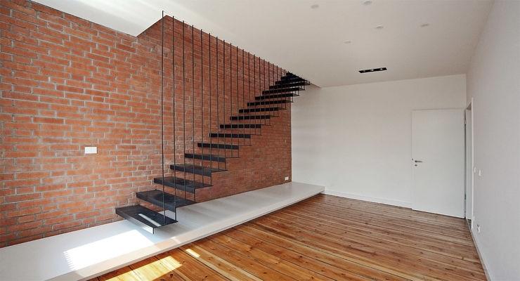 spreeformat architekten GmbH ミニマルスタイルの 玄関&廊下&階段