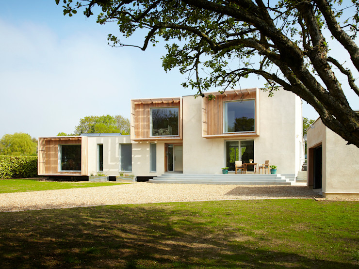 Completed Exterior Facit Homes Modern houses