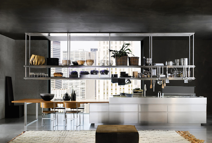 Convivium Kitchen Livingfurnish Ltd KitchenStorage