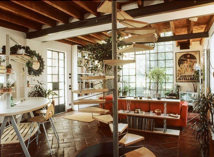 orlandini design sas Livings de estilo ecléctico