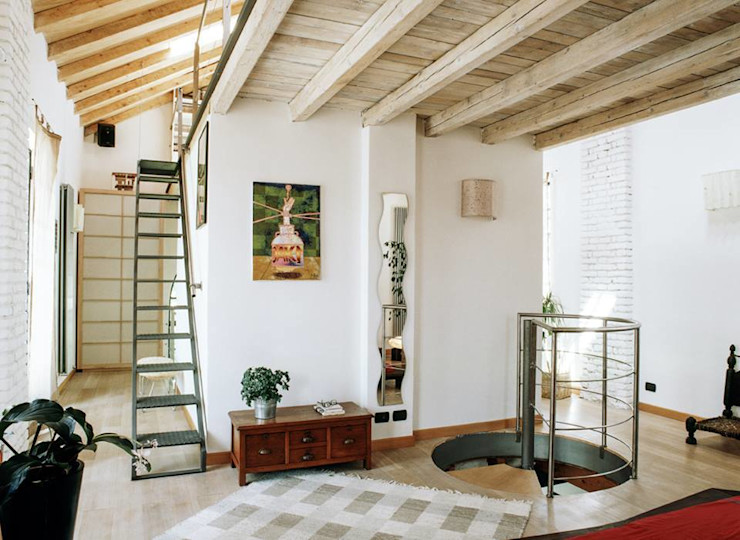 orlandini design sas Eclectic style bedroom