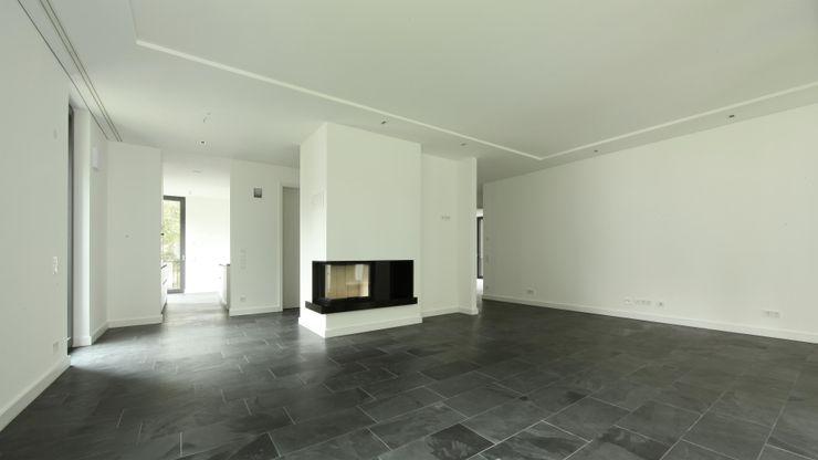 SHSP Architekten Generalplanungsgesellschaft mbH Salas de estilo moderno